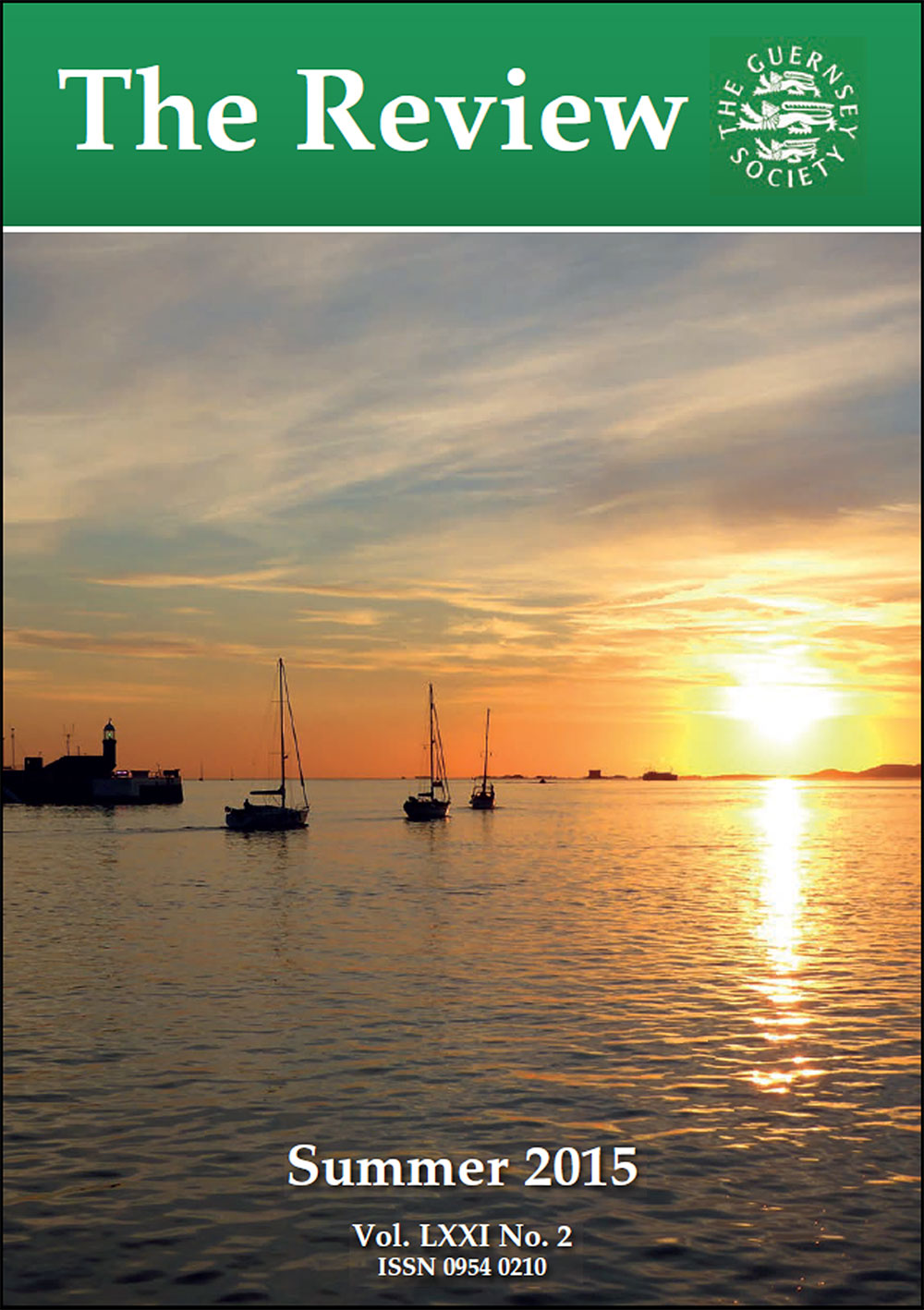 The Review of the Guernsey Society - Spring 2015